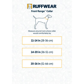 Ruffwear Front Range Kraag, red sumac